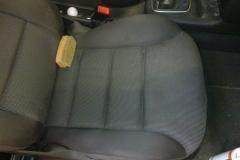 audi - pół fotela wyczyszczone małe zdjęcie